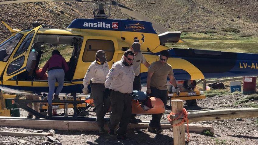 UPRAM rescató a cuatro andinistas en el Aconcagua
