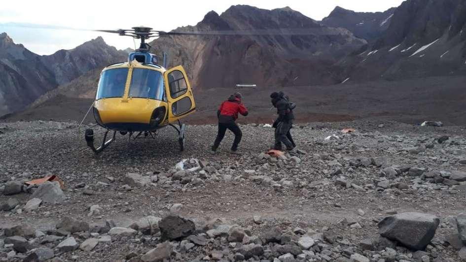 Realizaron el primer rescate de esta temporada en el Aconcagua